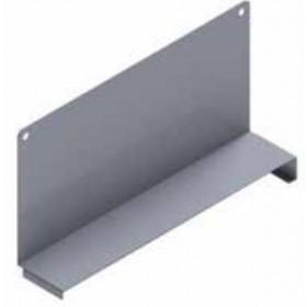Separatori scorrevoli in lamiera grigio cm. 40 per scaffalatura - arredo casa ufficio balcone garage condominio