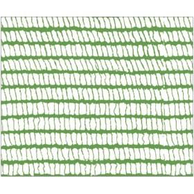 Rete con asole per ponteggi rotolo m 25x1.80h colore verde