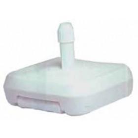 Base per Ombrellone in PVC a riempimento di acqua con ruote e maniglie - arredo casa giardino