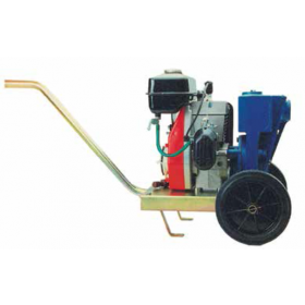 Motopompa autoadescante con carrello per irrigazione motore 2 tempi 79 cc Mod. CM 80/1A - pompa giardino