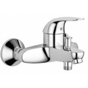 Miscelatore vasca monocomando in ottone cromato - Serie Euro EcoMonocomando