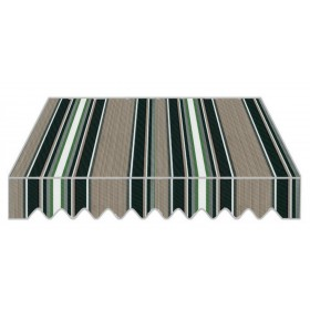 Tenda da sole bracci rettrattili cm 295x250h struttura alluminio P6002