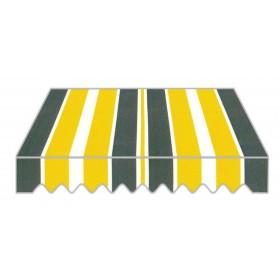 Tenda da sole bracci rettrattili cm 295x250h struttura alluminio P3002