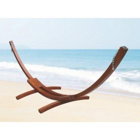 Telaio in legno di larice per amaca singola - giardino casa mare piscina