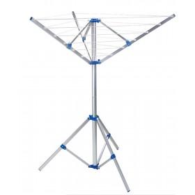 Stendibiancheria ombrello cm 120x120x145h in alluminio ø palo mm 38