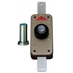 Serratura sicurezza a pompa CR con chiave chiusura verticale Art  220