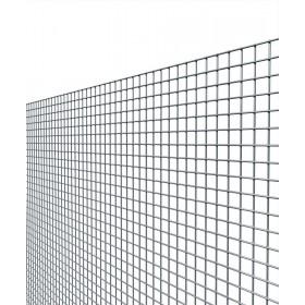 Rete elettrosaldata zincata maglia mm 12x25 altezza cm 80 filo mm 1.45
