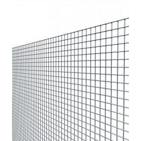 Rete elettrosaldata zincata maglia mm 19x19 altezza cm 60 filo mm 1.45
