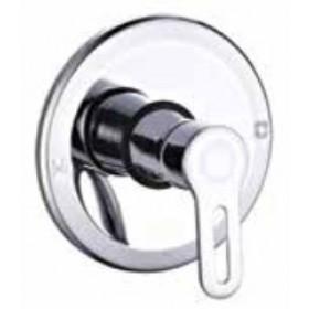 Miscelatore doccia a incasso monocomando in ottone cromato - Serie Young