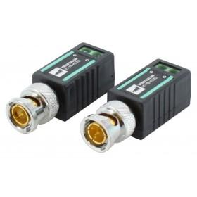 Coppia video balun a canale passivo allarme impianto videosorveglianza