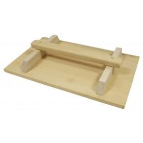 Frattone in legno BRAMIN lunghezza mm 250x420 per muratore