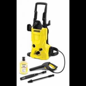 Idropulitrice ad acqua fredda Karcher funzione Total Stop potenza 1800 W completa di pistola tubo ugello lancia Mod. K 4 - pavimento garage casa giardino
