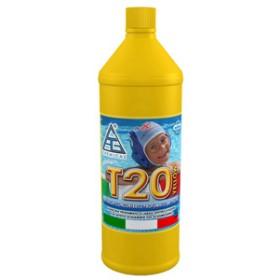 Antialghe profumato per piscine - Mod. T20 - C.A.G. Chemical - Confezione da 1 l