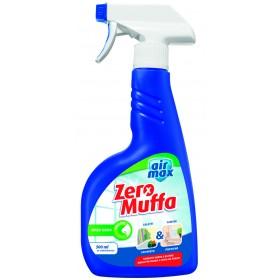 Antimuffa Zeromuffa Airmax inodore e senza candeggina flacone da 500 ml - elimina muffa casa