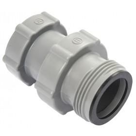 Raccordo ø 38 mm per connettere le piscine con pompe a filtro e sabbia