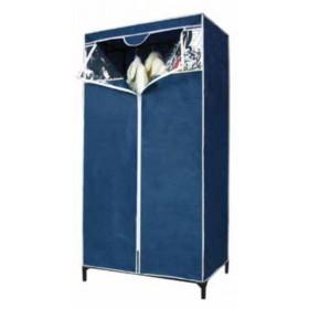 Armadio Tnt struttura in metallo rivestimento in tessuto cm. 80x46x156h - arredo casa dispensa