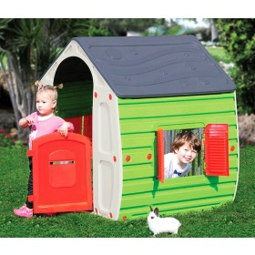 Casetta in resina gioco per bambini cm. 102x90x109h - arredo casa giardino