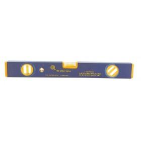 Livella 3 bolle profilo antiurto lunghezza 80 cm Mod GWP - 95B