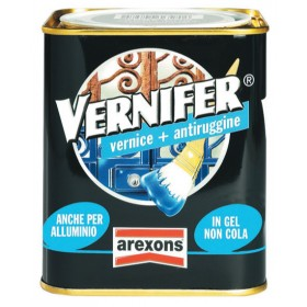 VERNIFER vernice con antiruggine AREXONS antichizzante antracite 750 ml