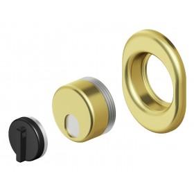 Protezione serrature DEFENDER 5 mm cromo Mod MONOLITO MAGNETICO MRM 29
