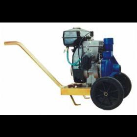Motopompa centrifuga con carrello per irrigazione motore 2 tempi 79 cc Mod. CM 80/2 - pompa giardino