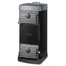 Stufa a legna Nordica Mod. Major nera 6.5 kW 186 m³ - riscaldamento casa arredo interni