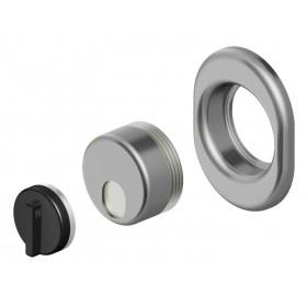 Protezione serrature DEFENDER 11 mm cromo Mod MONOLITO MAGNETICO MRM 29