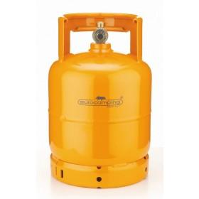 Bombola per gas liquido completa di rubinetto capacità kg 3
