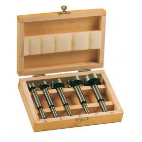 Set Punte assortite per cerniere confezione 5 pezzi ø mm 15÷35