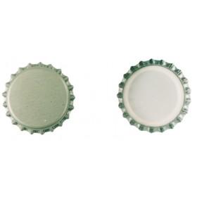Tappi corona tipo alimentare in banda stagnata ø 26 mm conf 100 pezzi