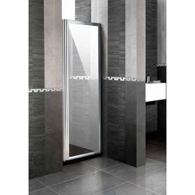 Parete fissa in cristallo 6 mm per doccia ad estensione regolabile cm 64/70 - box arredo bagno