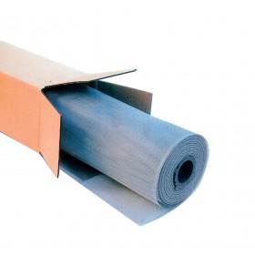 Moschiera alluminio rotolo 30 m maglia 18X16 altezza 100 cm