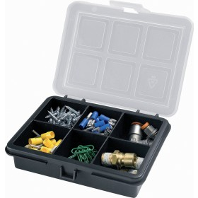 Contenitore portaminuteria in plastica a 6 scomparti Art 3100