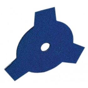 Disco decespugliatore acciaio 3 denti Diametro 255 mm