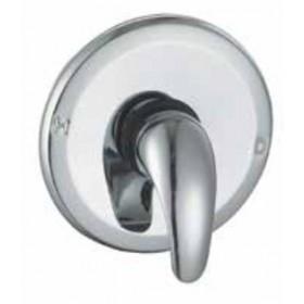 Miscelatore doccia a incasso monocomando in ottone cromato - Serie Euro