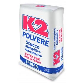Stucco riempitivo in polvere K2 conf 20 kg extra fine per interno