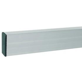 Stadia in alluminio lunghezza cm 200 sezione cm 100x25 per muratori