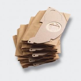 Sacchetti filtro carta per KARCHER Mod MV2 confezione 5 pezzi