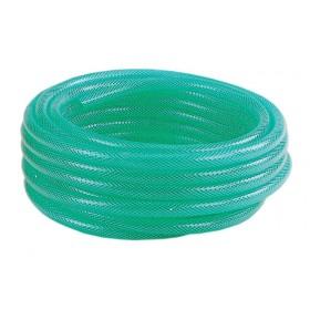 Tubo retinato PVC antigelo verde rotolo 50 m ø mm 25x32 giardinaggio