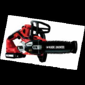 Elettrosega Black&Decker con batteria al litio Mod. GKC1820L - casa giardino prato