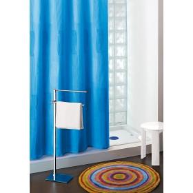 Tenda doccia Gedy in poliestere blu cm. 240X200 - Art. 113