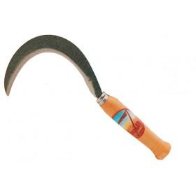 Ronchino per orto FALCI in acciaio lama 10 cm manico legno Misura 12/0