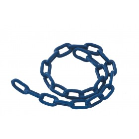 Catena antifurto rivestita plastica morbida dimensioni mm 5x60