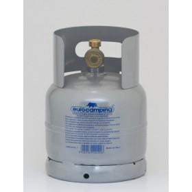 Bombola per gas liquido completa di rubinetto capacità kg 1