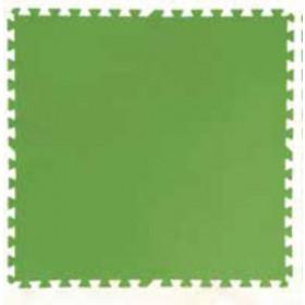 Tappetino base per piscina in polietilene Bestway cm. 81X81 verde conf. 8 pz Mod. 58265 - arredo giardino esterni piscine