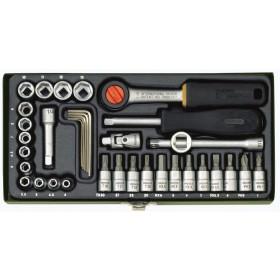 Serie chiavi a bussola PROXXON set 36 pz per meccanica di precisione