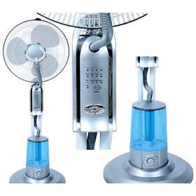 Ventilatore Nebulizzatore Mod. Rugiada a 3 velocità con telecomando - arredo casa giardino gazebo