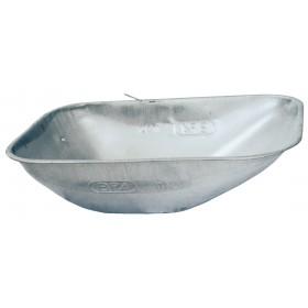 Vasca per carriola capacità 75 l BPA cassone in lamiera zincata