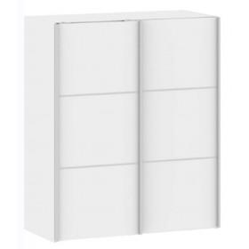 Armadio Tvilum con ante scorrevoli colore bianco cm. 122x64x201h - arredo casa