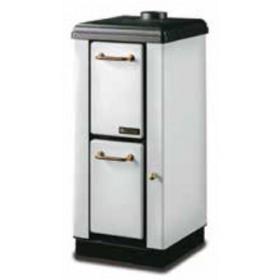 Stufa a legna Nordica Mod. Mignon bianca 4.0 kW 115 m³ - riscaldamento casa arredo interni